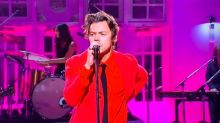 Harry Styles Rips Off His Pants On 'SNL' To Give Fans What They've Been Waiting For