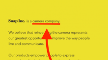 The strangest part of Snapchat's IPO filing