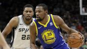 Follow live: Warriors look to sweep Spurs aside
