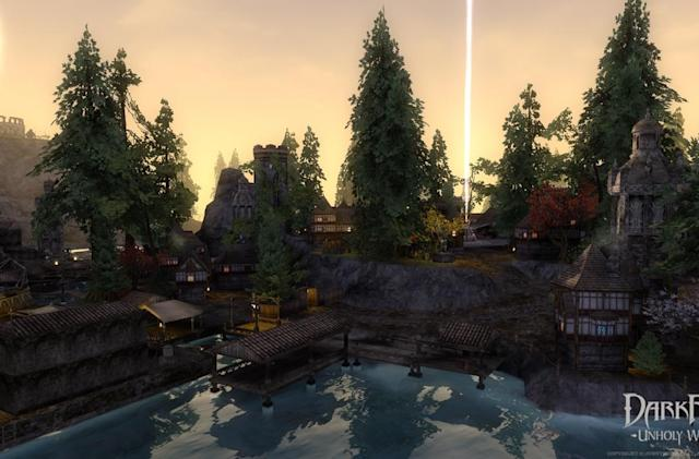 Darkfall's territory control update has arrived