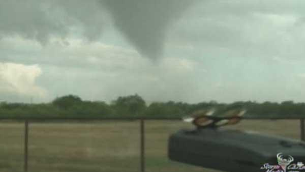 Funnel cloud spotted in Dallas area
