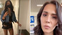 'Anomaly between my legs': TikTok model's fury over airport check