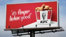 Why KFC is censoring their slogan around the world