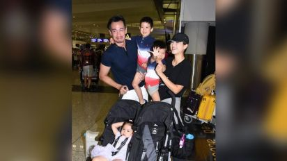 Moses Chan feels lonely without his family