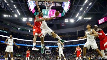 Kawhi Leonard carries Toronto Raptors to within game of NBA Finals