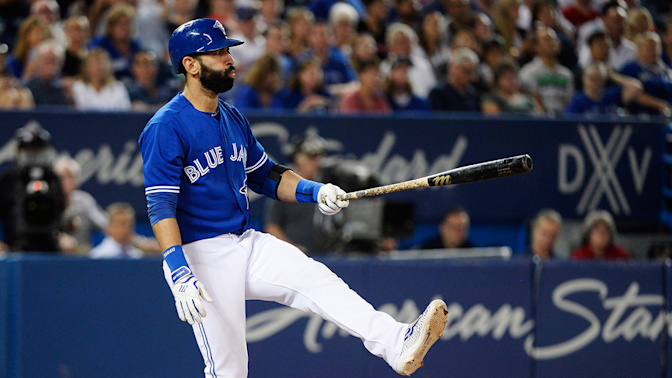 Bautista's strikeout record spoiling Blue Jays farewell