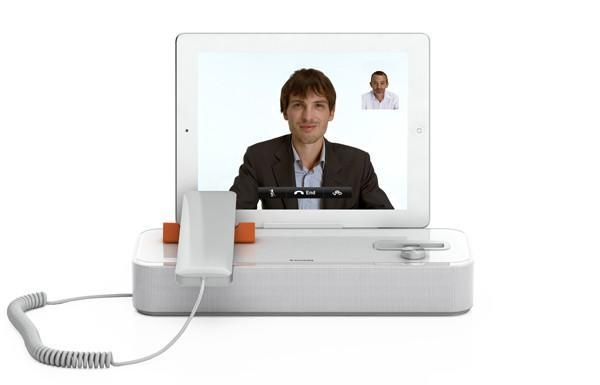 Invoxia unveils the AudiOffice, a $299 speaker dock for iDevices (video)