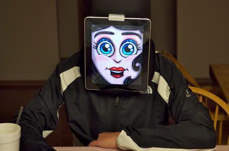 An iPad as nightmare fuel