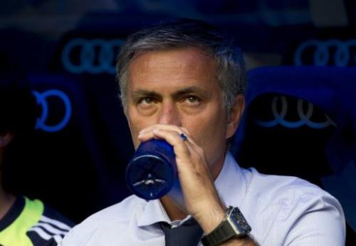 El entrenador portugués del Real Madrid, José Mourinho, el domingo antes del partido contra el Valencia que terminó 1-1.