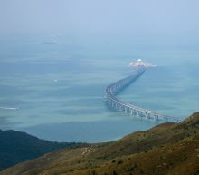 Hong Kong mega bridge launch announcement sparks backlash