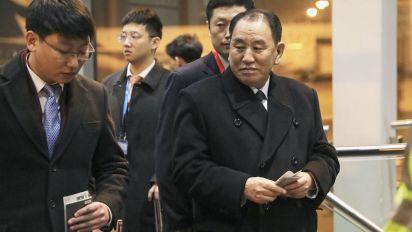 Top North Korean envoy arrives in U.S. for talks