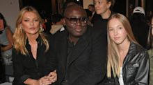 Kate Moss makes rare appearance with daughter Lila Grace at Topshop's SS18 show
