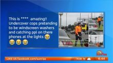 Cops go undercover to catch drivers on their phones