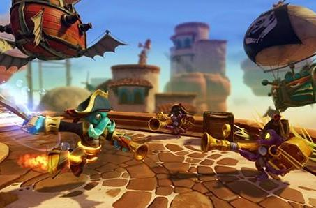 New hybrid figures jump into the Skylanders: Swap Force toybox