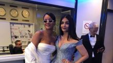 Cannes 2017: Aishwarya Rai Bachchan poses with Rihanna at the film festival
