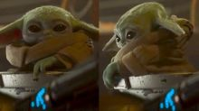 Baby Yoda is the new 'nope' meme thanks to the 'Mandalorian' season 2 trailer