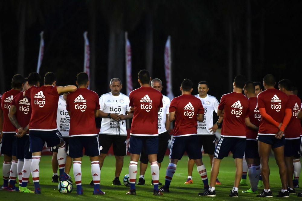 Paraguay se entrenó pensando en Brasil