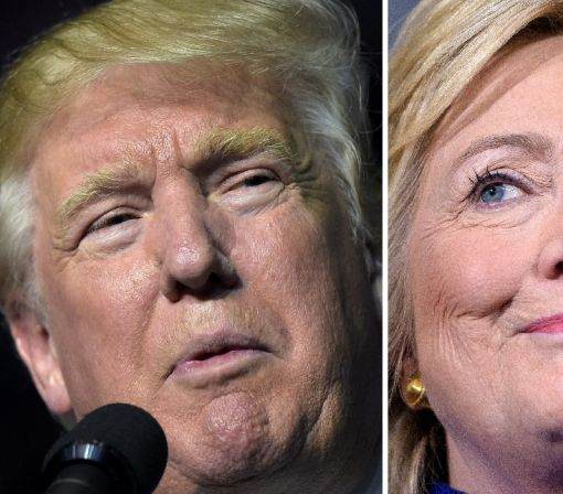 Clash of the titans: Clinton, Trump go head to head