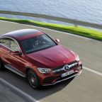 Mercedes-Benz presents restyled GLC Coupé with new engine line-up