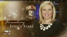 News station broadcasts touching tribute to meteorologist Jessica Starr, who died by suicide