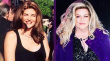 ¿Qué fue de Kirstie Alley, la estrella de Cheers que siempre luchó contra su peso?