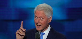 Bill Clinton used a clever combination to make the case for Hillary at the DNC
