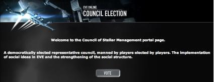 EVE's Council of Stellar Management elections end tomorrow
