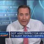 DOT asks inspector general to audit Boeing 737 Max certif...