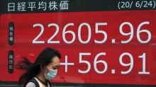 Asia shares higher after US rally despite rising virus fears