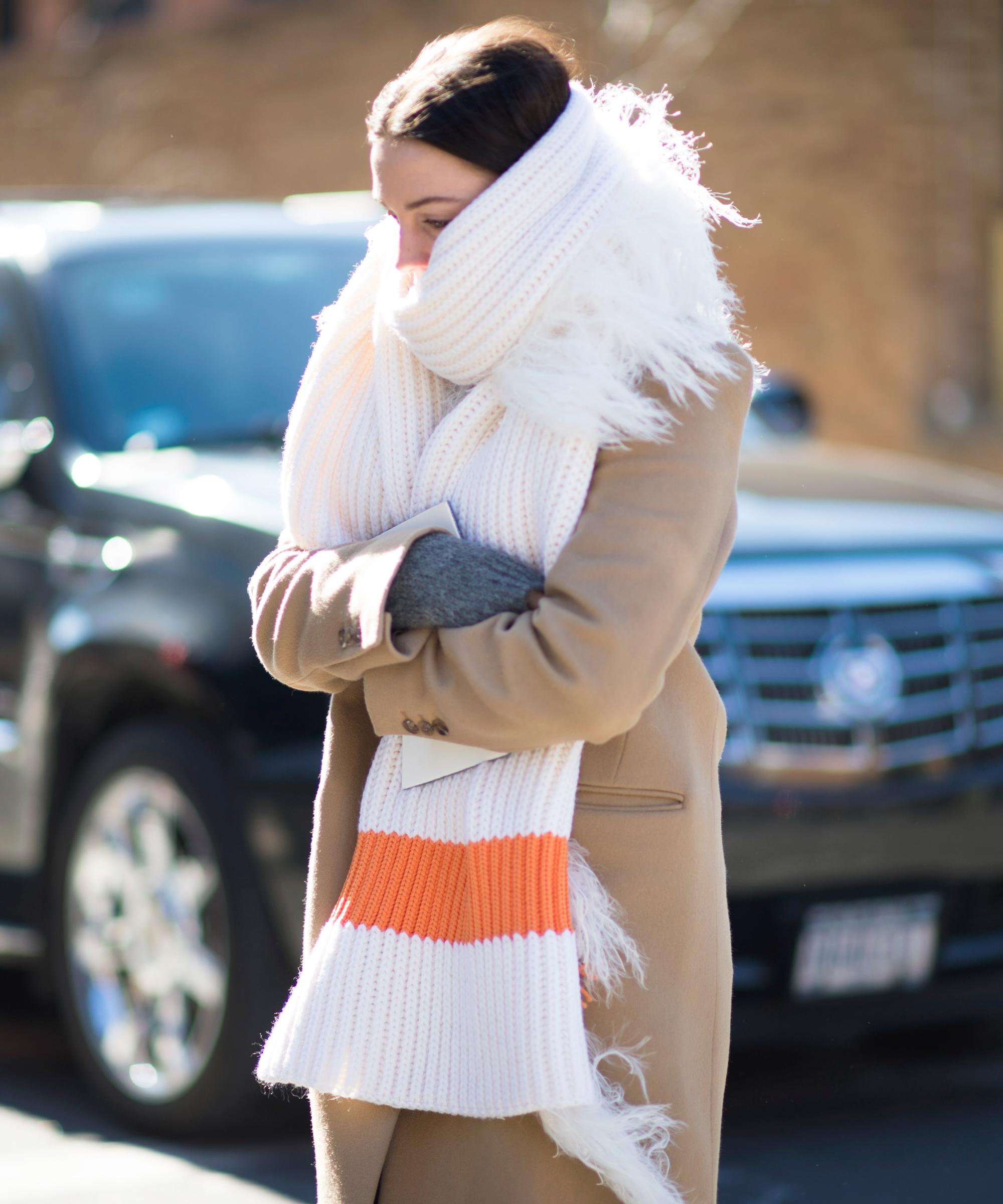 9 Chic Oversized Scarves To Keep You Warm This Winter