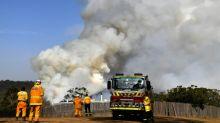 Chuva dá alívio aos bombeiros no combate aos incêndios na Austrália