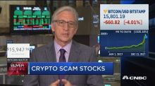 More and more stocks are taking advantage of the crypto c...