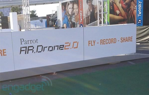 Parrot launching new AR.Drone2.0 at CES?
