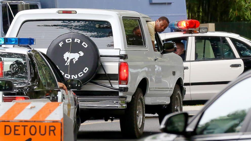 O.J. Simpson Ford Bronco Chase Filmed For 'American Crime