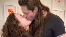Kat Dennings Is Engaged! Actress Shows Off Her Diamond Ring from Fiancé Andrew W.K.