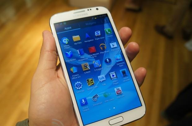 Samsung Galaxy Note II for Sprint hands-on