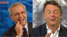 Mentana-Renzi, siparietto sulla durata del governo