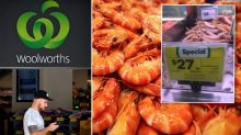 'Shame on you': Why Woolworths shoppers are furious about supermarket's prawns