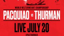 Eight-Division World Champion Manny Pacquiao Faces Unbeaten Champ Keith Thurman in Welterweight World Title Fight Broadcast Live to Cinemas Nationwide