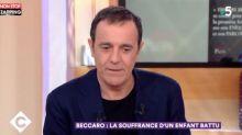 C à vous : Thierry Beccaro battu par son père, son récit bouleversant (vidéo)