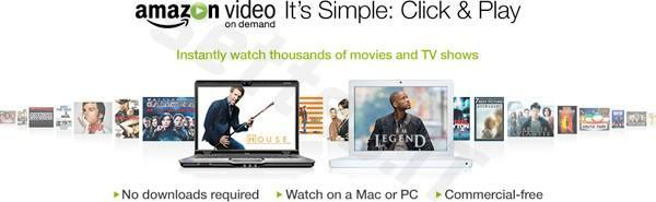 Amazon Video on Demand store streams film and TV, launches today