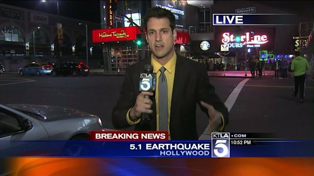 OC Earthquake Was Hardly Felt Near Hollywood & Highland
