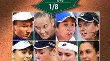 Roland-Garros (F) - 8es - Roland-Garros: Trevisan, Jabeur, Ferro... les nouvelles des huitièmes