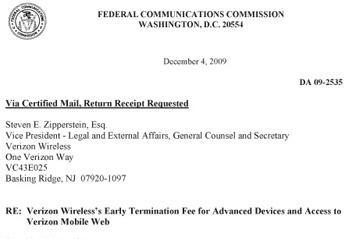 FCC extends deadline on Verizon's ETF response, lets it enjoy the weekend