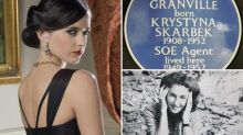 Spy who inspired James Bond girl played by Eva Green honoured with blue plaque at London hotel
