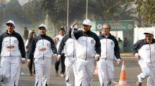 National Insurance In Association With Kolkata Police Presented The SDSL Half Marathon In Kolkata