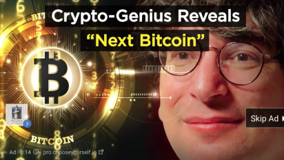 The man behind the 'bitcoin genius' ads covering the internet