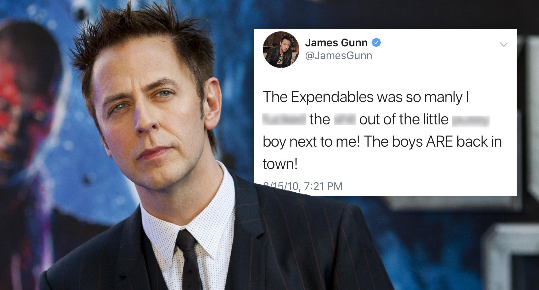 James Gunn Twitter: James Gunn Dumped From Disney Over Offensive Tweets