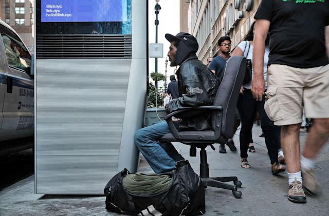 NYC nixes kiosk browsers after homeless commandeer their use