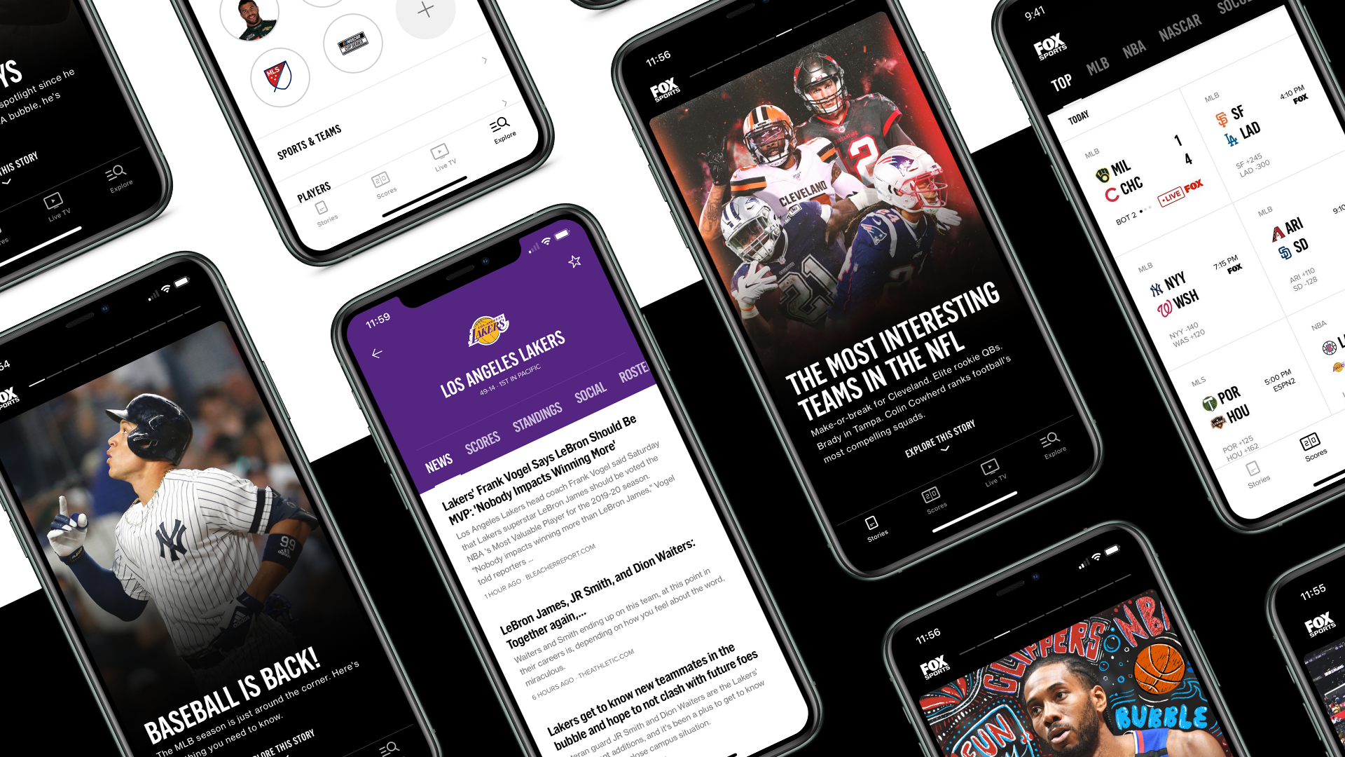Fox Sports launches redesigned app with modern design, bonus camera angles - Yahoo Philippines News